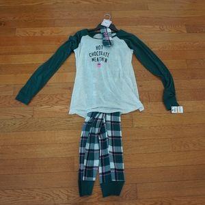 NWT Jenni 3 piece sleepwear set